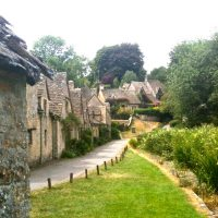 Don't waste time trying to fight the natural order of things – Bibury Village